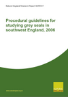 Procedural guidelines for studying grey seals in southwest England, 2006 (Thumbnail link to record)