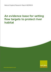 An evidence base for setting flow targets to protect river habitat (Thumbnail link to record)