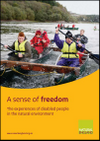 A sense of freedom: the experiences of disabled people in the natural environment (Thumbnail link to record)