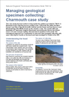 Managing geological specimen collecting: Charmouth case study (Thumbnail link to record)