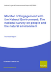 Monitor of Engagement with the Natural Environment: The national survey on people and the natural environment - Technical Report (2009-10 survey) (Thumbnail link to record)