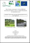 Post-works assessment of the STREAM restoration project sites at Upper Woodford (R. Avon) (Thumbnail link to record)