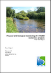 Physical and biological monitoring of STREAM restoration projects Year One Report (Thumbnail link to record)