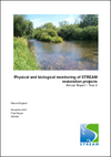 Physical and biological monitoring of STREAM restoration projects annual report – year 2 (Thumbnail link to record)