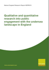 Qualitative and quantitative research into public engagement with the undersea landscape in England (Thumbnail link to record)