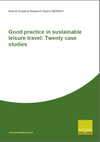 Good practice in sustainable leisure travel: Twenty case studies (Thumbnail link to record)