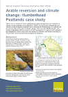 Arable reversion and climate change: Humberhead Peatlands case study (Thumbnail link to record)