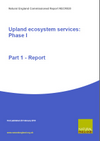Upland ecosystem services: Phase I (Thumbnail link to record)