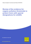 Review of the evidence for organic pollution thresholds to protect rivers with special designations for wildlife (Thumbnail link to record)