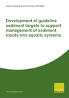 Development of guideline sediment targets to support management of sediment inputs into aquatic systems (Thumbnail link to record)