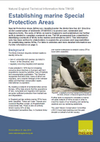 Establishing marine Special Protection Areas (Thumbnail link to record)