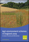 Agri-environment schemes in England 2009 (Thumbnail link to record)