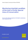 Monitoring Intertidal Sandflats of the Isles of Scilly Special Area of Conservation: Survey of the Infaunal Organisms of St. Martin's Sedimentary Shore, September 2009 (Thumbnail link to record)
