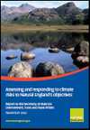 Assessing and responding to climate risks to Natural England's objectives.Report to the Secretary of State for Environment, Food and Rural Affairs November 2010 (Thumbnail link to record)