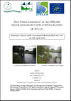 Post-works assessment of the STREAM restoration project sites at Seven Hatches (R.Wylye) (Thumbnail link to record)