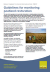 Guidelines for monitoring peatland restoration (Thumbnail link to record)