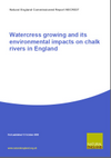 Watercress growing and its environmental impacts on chalk rivers in England (Thumbnail link to record)