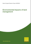 Environmental impacts of land management (Thumbnail link to record)