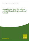 An evidence base for setting nutrient targets to protect river habitat (Thumbnail link to record)