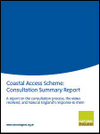 Coastal Access Scheme: Consultation Summary Report (Thumbnail link to record)