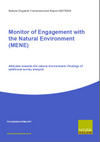 Monitor of Engagement with the Natural Environment (MENE): Attitudes towards the natural environment - Findings of additional survey analysis (Thumbnail link to record)