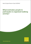 What motivates people to participate in organised walking activity? (Thumbnail link to record)