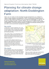 Planning for climate change adaptation: North Doddington Farm (Thumbnail link to record)