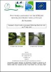Post-works assessment of the STREAM restoration project sites at Fovant (R. Nadder) (Thumbnail link to record)