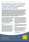 An evidence base for setting organic pollution targets to protect river habitat (Thumbnail link to record)