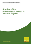 A review of the ornithological interest of SSSIs in England (Thumbnail link to record)