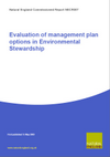 Evaluation of Management Plan Options in Environmental Stewardship (Thumbnail link to record)