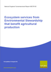 Ecosystem services from Environmental Stewardship that benefit agricultural production (Thumbnail link to record)