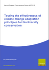 Testing the effectiveness of climate change adaptation principles for biodiversity conservation (Thumbnail link to record)