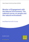 Monitor of Engagement with the Natural Environment 2009-12: Datasets and guidance on use for UPPER TIER LOCAL AUTHORITIES (Thumbnail link to record)