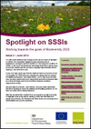 Spotlight on SSSIs - Working towards the goals of Biodiversity 2020: Issue 2 – June 2013 (Thumbnail link to record)