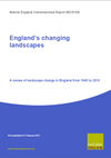England's changing landscapes: A review of landscape change in England from 1940 to 2010 (Thumbnail link to record)