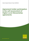 Agreement holder participation in the self-assessment of Higher Level Stewardship agreements (Thumbnail link to record)
