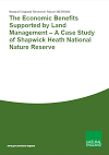 The Economic Benefits Supported by Land Management – A Case Study of Shapwick Heath National Nature Reserve (Thumbnail link to record)