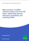 Meta-analysis of eDNA metabarcoding data from UK lakes optimising species detection probability and sampling effort (Thumbnail link to record)