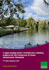 A rapid scoping review of health and wellbeing evidence for the Framework of Green Infrastructure Standards (Thumbnail link to record)