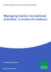 Managing marine recreational activities: a review of evidence (Thumbnail link to record)