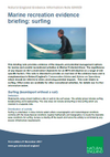 Marine recreation evidence briefing: Surfing (Thumbnail link to record)