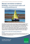 Marine recreation evidence briefing: Non-motorised watercraft including paddlesports (Thumbnail link to record)
