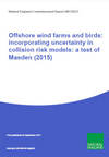 Offshore wind farms and birds: incorporating uncertainty in collision risk models: a test of Masden (2015) (Thumbnail link to record)