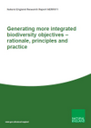 Generating more integrated biodiversity objectives – rationale, principles and practice (Thumbnail link to record)