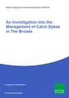 An Investigation into the Management of Catch Dykes in The Broads (Thumbnail link to record)
