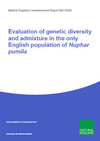 Evaluation of genetic diversity and admixture in the only English population of least water-lily (Nuphar pumila) (Thumbnail link to record)