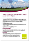 Natural England Discretionary Advice Service: Advice for Developers (Thumbnail link to record)