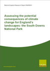 Assessing the potential consequences of climate change for England's landscapes: the South Downs National Park (Thumbnail link to record)