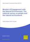 Monitor of Engagement with the Natural Environment: The national survey on people and the natural environment: Technical Report from the 2012 - 2013 survey (Thumbnail link to record)